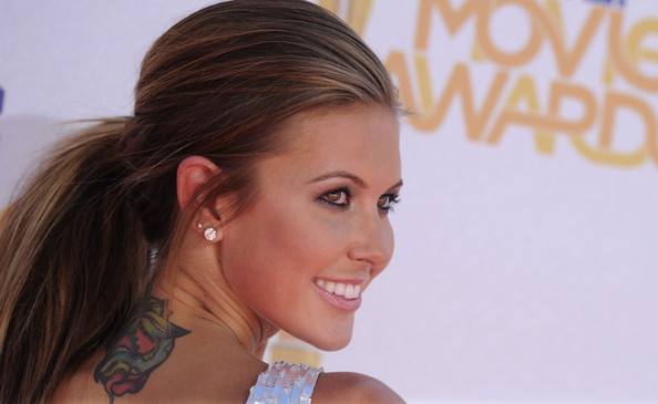 Audrina Patridge Snake Tattoo
