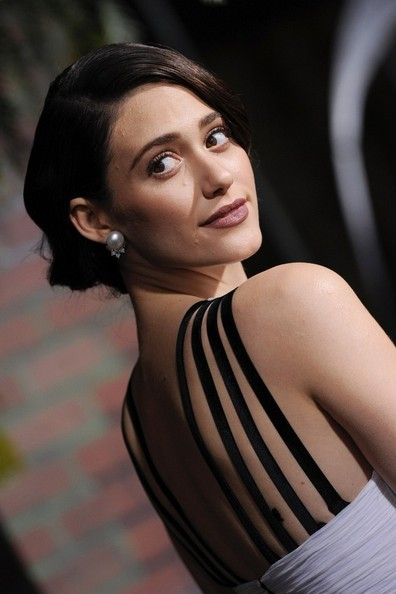 More Pics of Emmy Rossum Berry Lipstick (2 of 38) - Makeup Lookbook - StyleBistro