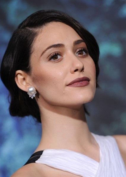 More Pics of Emmy Rossum Berry Lipstick (3 of 38) - Makeup Lookbook - StyleBistro
