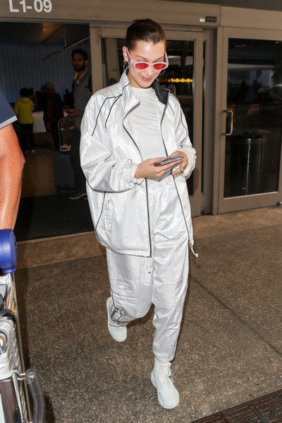 Bella Hadid Basketball Sneakers