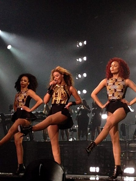 Beyonce Knowles Performs in Manchester