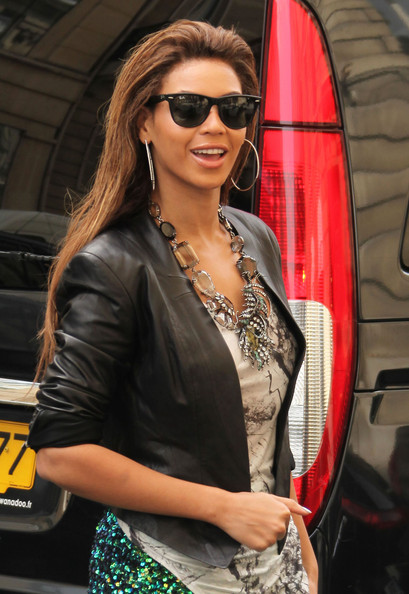 Beyonce Knowles Wayfarer Sunglasses