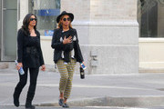 Blue Ivy Carter and Tina Knowles Photo
