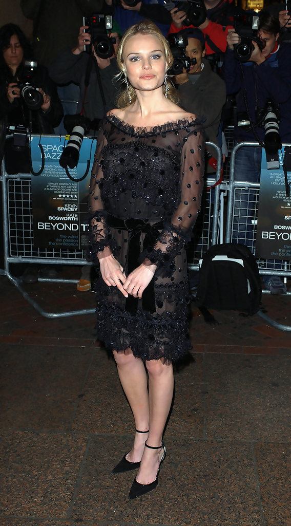 """Beyond the Sea"" premiere at the Vue Cinema, Leicester Square, London.Pic shows: Kate Bosworth."