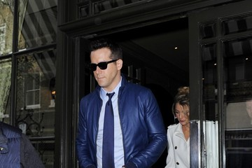 Blake Lively Ryan Reynolds Blake Lively and Ryan Reynolds Out in London