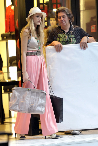 Blake Lively Patent Leather Tote