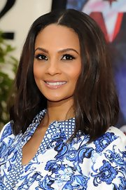 Alesha Dixon was on trend with nude lips on 'Britain's Got Talent.'