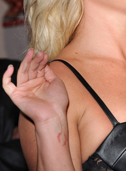 Britney Spears Artistic Design Tattoo