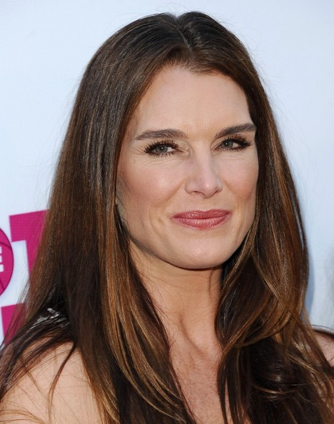 Brooke Shields Layered Cut