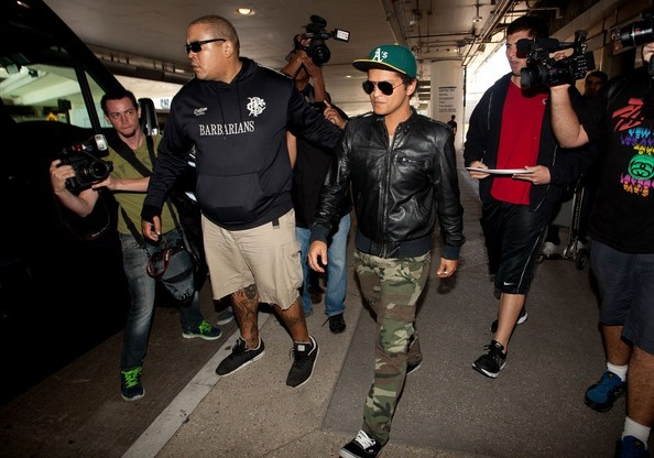 More Pics of Bruno Mars Bomber Jacket (1 of 15) - Bomber Jacket Lookbook - StyleBistro