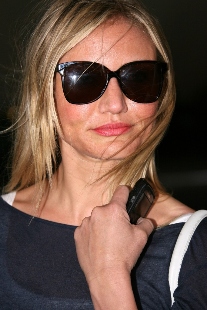 Cameron Diaz Oversized Sunglasses Cameron Diaz Looks