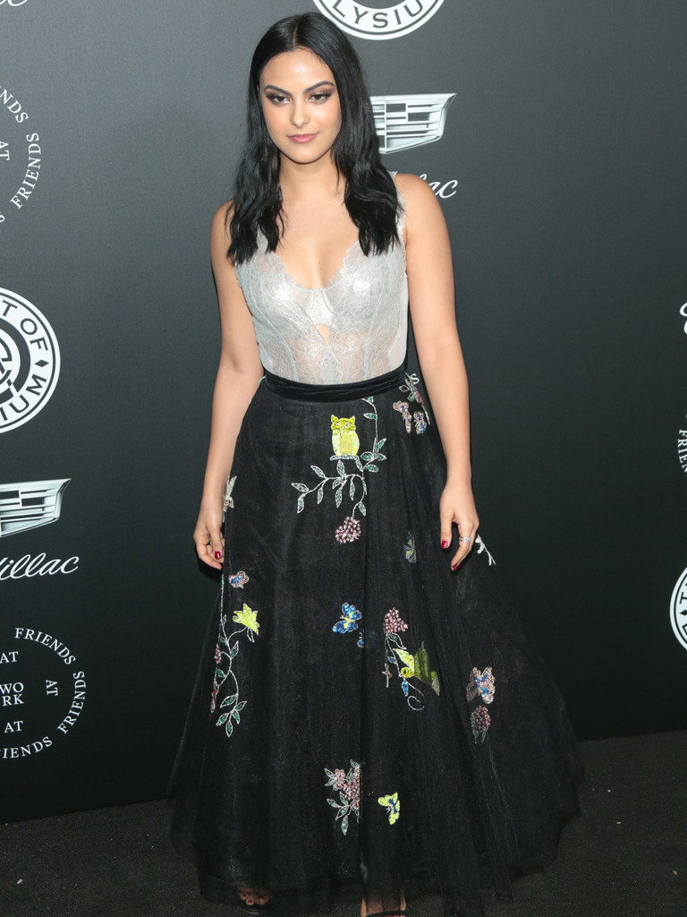 Camila Mendes Lace Dress Newest Looks Stylebistro