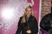 Camille Grammer Wool Coat
