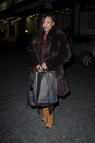 More Pics of Beverley Knight Fur Coat (1 of 1) - Fur Coat Lookbook - StyleBistro