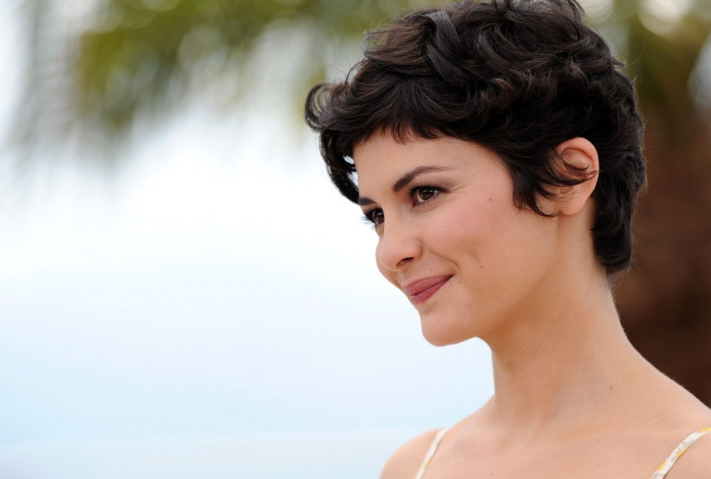 More Pics Of Audrey Tautou Messy Cut 3 Of 17 Short Hairstyles