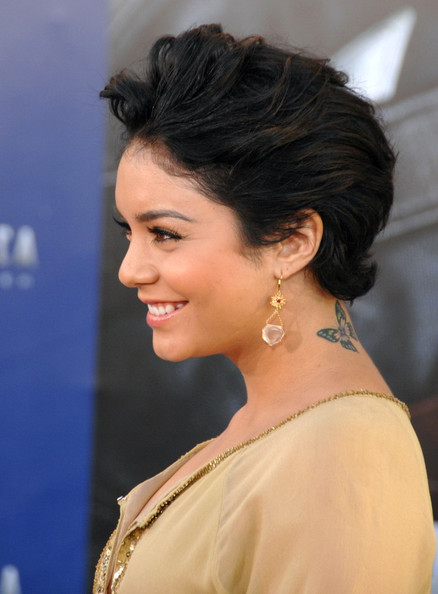 More Pics of Vanessa Hudgens Insect Tattoo (1 of 20) - Insect Tattoo Lookbook - StyleBistro