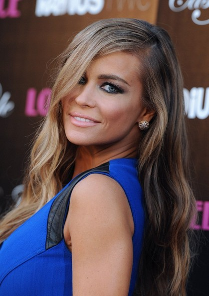 Carmen Electra Long Wavy Cut
