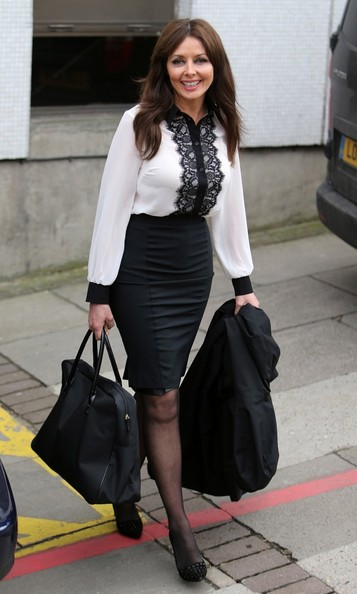 Carol Vorderman Clothes