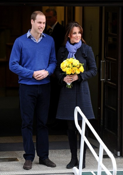 Kate Middleton Leaves the Hospital 3
