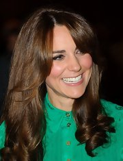 The Duchess of Cambridge debuted a brand-new hairstyle with (gasp!) bangs at the Natural History Museum.