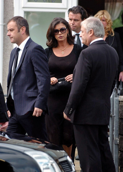 Catherine Zeta-Jones Satin Clutch