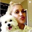 Ashley Roberts Puckers Up With Her Pooch