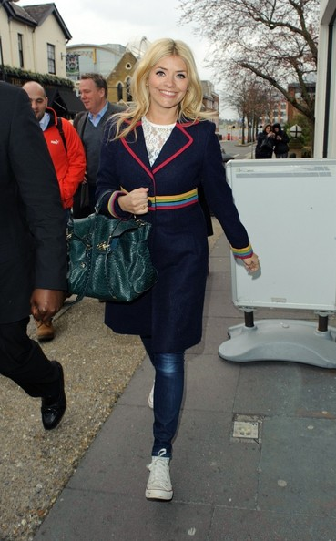 More Pics of Holly Willoughby Wool Coat (2 of 5) - Wool Coat Lookbook - StyleBistro