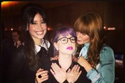 Florence Welch and Daisy Lowe Photo
