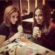 The Saturdays Indulge in Fancy Drinks