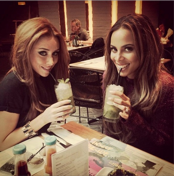 The Saturdays Indulge In Fancy Drinks The Week S Most