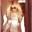 Beyonce Rocks a Tweed Letterman Jacket