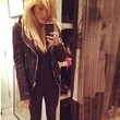 Ellie Goulding Goes Moto-Chic