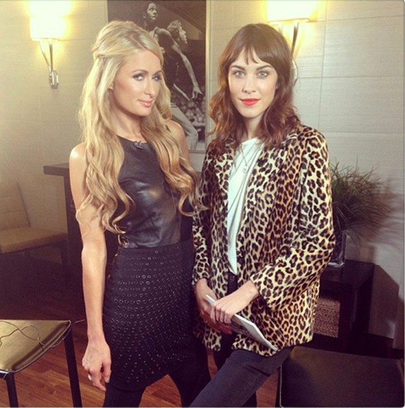 Paris Hilton and Alexa Chung Team Up