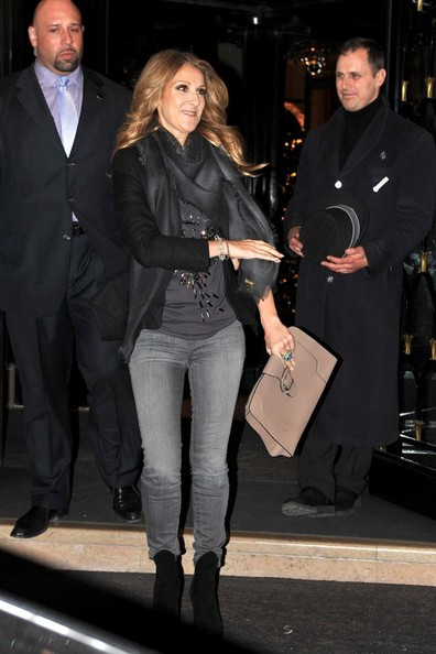 Celine Dion Oversized Clutch
