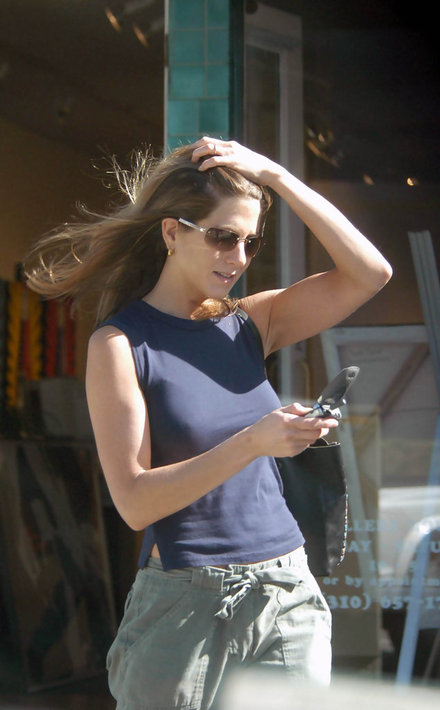 Jennifer Aniston 2003 20 Street Style Shots From The