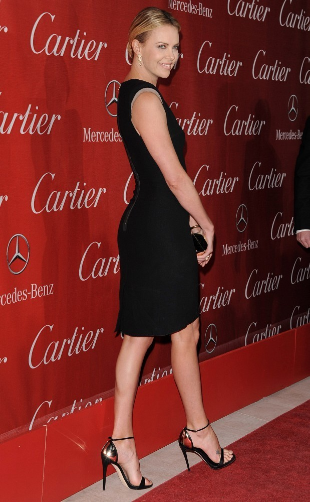 Charlize Theron Strappy Sandals Charlize Theron Looks