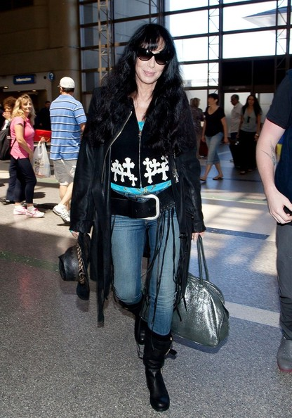 Cher Leather Coat