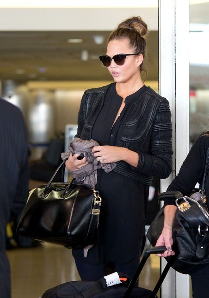 Chrissy Teigen Cropped Jacket