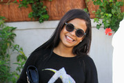 Christina Milian Round Sunglasses