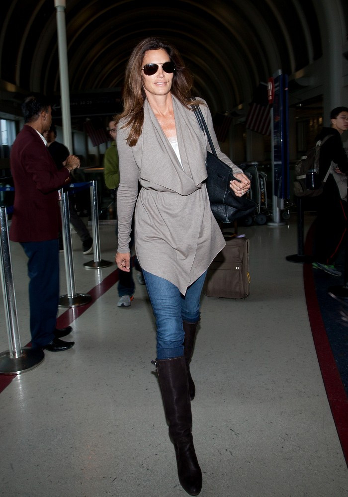 Cindy Crawford Knee High Boots Cindy Crawford Boots