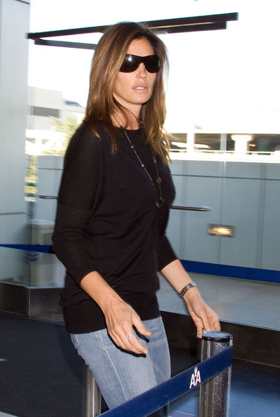 Cindy Crawford Designer Shield Sunglasses