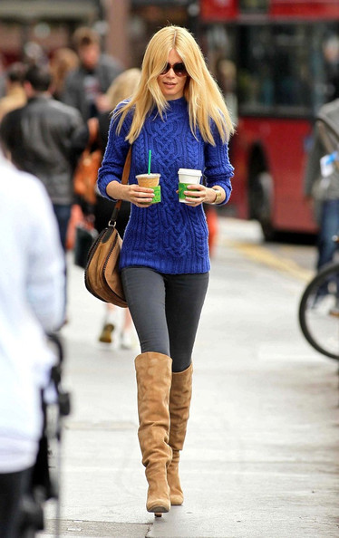 More Pics of Claudia Schiffer Crewneck Sweater (1 of 9) - Claudia Schiffer Lookbook - StyleBistro