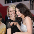 Robin Wright and Asia Argento