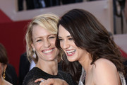Robin Wright and Asia Argento Photo