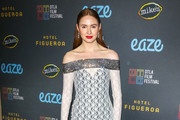 Karen Gillan Sheer Dress