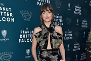 Dakota Johnson Cutout Dress