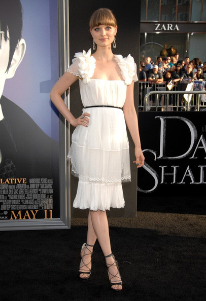 Bella Heathcote at the 'Dark Shadows' Premiere