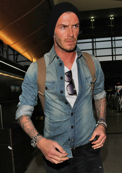 David Beckham Sterling Chronograph Watch
