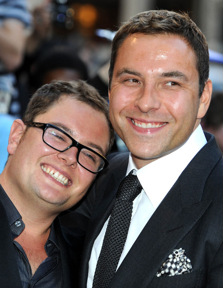 David Walliams Short Straight Cut