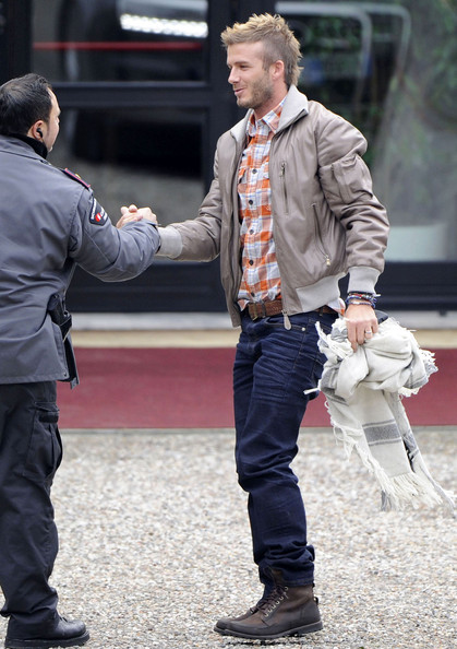 More Pics of David Beckham Work Boots (4 of 4) - David Beckham Lookbook - StyleBistro